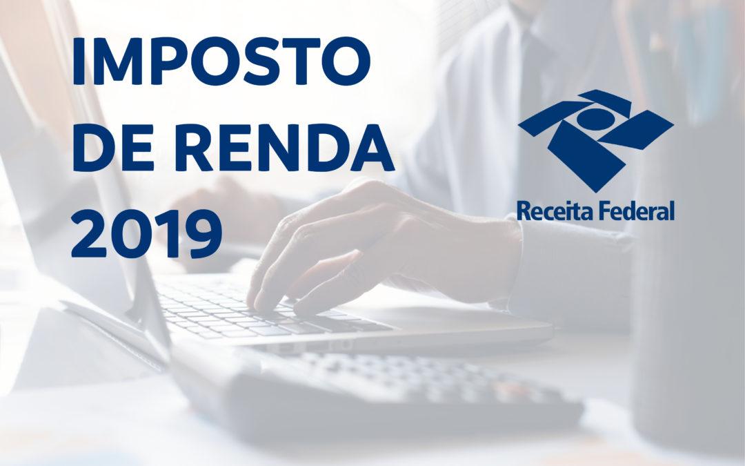 RFB abre no dia 10 de junho consulta ao 1º lote de restituição do IRPF 2019