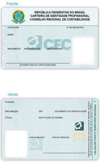 CFC afirmou que nova Carteira de Identidade Profissional não terá chip
